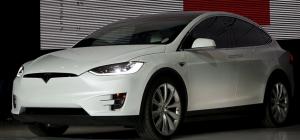 TeslaModelXFront