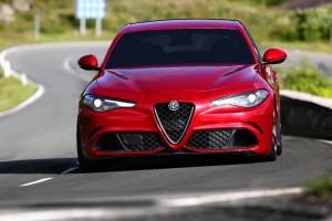 Alfa Romeo Giulia Front 2
