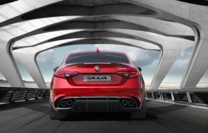 Alfa Romeo Giulia Heck