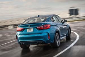 BMW X6 M Heck