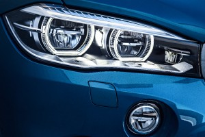 BMW X6 M Scheinwerfer